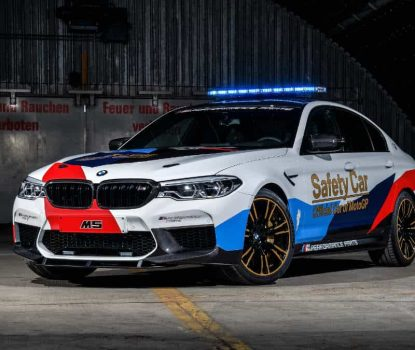 BMW M5 MOTO-GP SAFETY CAR