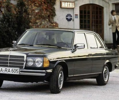 40 YEARS OF THE MERCEDES-BENZ W123