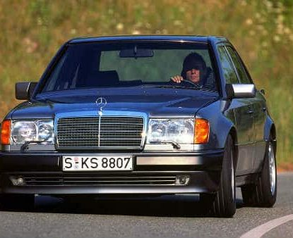 The MERCEDES-BENZ 500 E