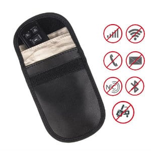 MENGSHEN CAR KEY SIGNAL BLOCKER CASE