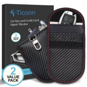 TICONN CAR KEY SIGNAL BLOCKER CASE